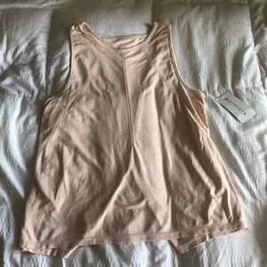 Light Pink Athleta XL tank top brand new!!!